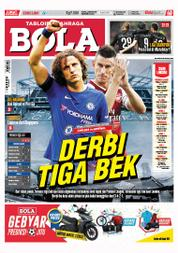 Cover Majalah Tabloid Bola Sabtu ED 2801 September 2017