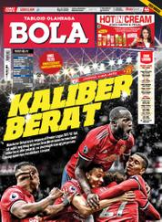 Cover Majalah Tabloid Bola Sabtu ED 2809 Oktober 2017
