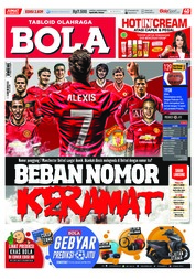 Cover Majalah Tabloid Bola Sabtu