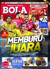 Tabloid Bola Sabtu Magazine Cover