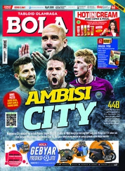 Cover Majalah Tabloid Bola Sabtu ED 2861 April 2018