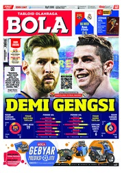 Cover Majalah Tabloid Bola Sabtu