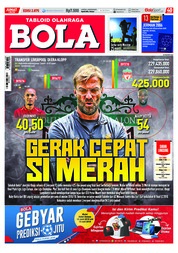 Cover Majalah Tabloid Bola Sabtu ED 2875 Mei 2018