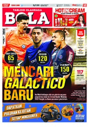 Cover Majalah Tabloid Bola Sabtu ED 2888 Juli 2018