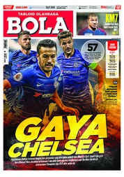 Cover Majalah Tabloid Bola Sabtu ED 2890 Juli 2018
