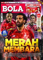 Cover Majalah Tabloid Bola Sabtu ED 2894 Agustus 2018