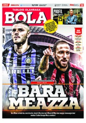 Cover Majalah Tabloid Bola Sabtu ED 2914 Oktober 2018