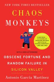 Cover Chaos Monkeys oleh Antonio Garcia Martinez