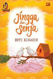 Cover Jingga dan Senja oleh Esti Kinasih