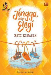 Cover Jingga dalam Elegi oleh Esti Kinasih