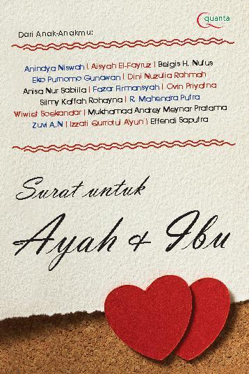 Jual Buku Surat Untuk Ayah Ibu Oleh Dini Nuzulia Rahmah