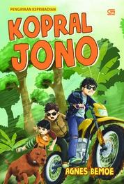 Cover Kopral Jono oleh Agnes Bemoe
