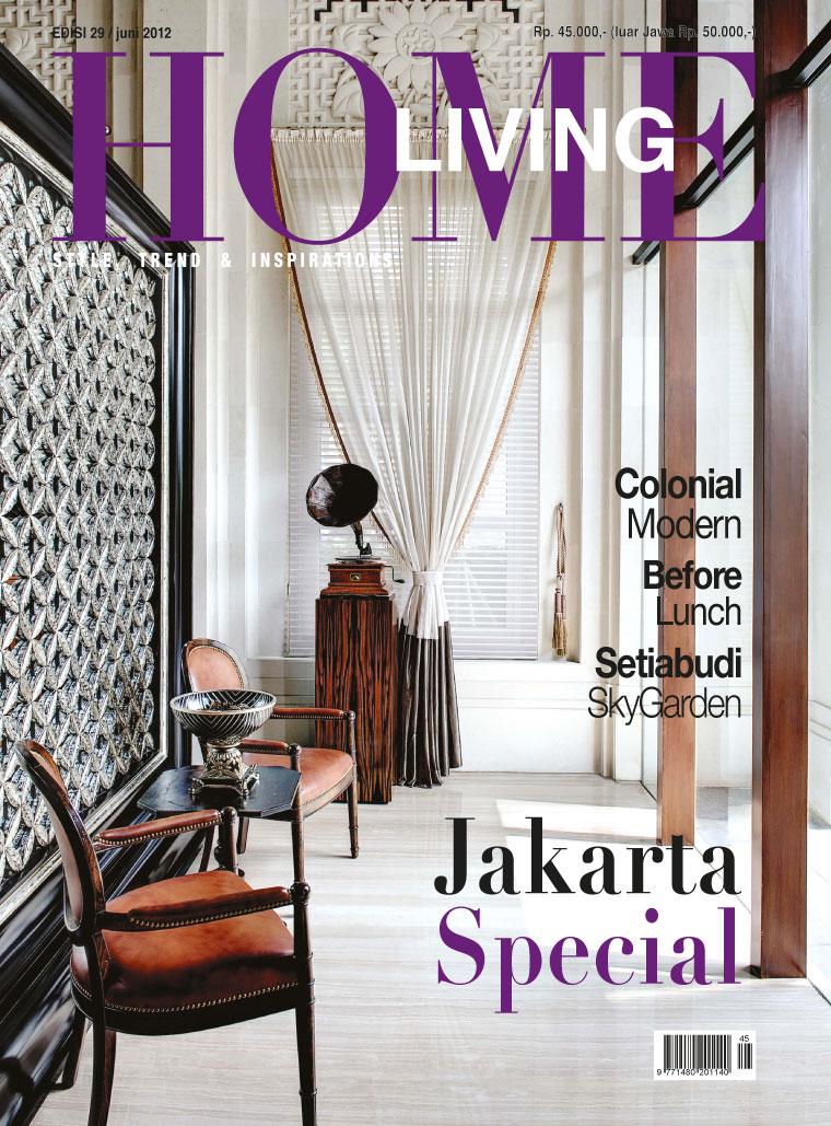 Jual Majalah Home Living Juni 2012 Gramedia Digital Indonesia