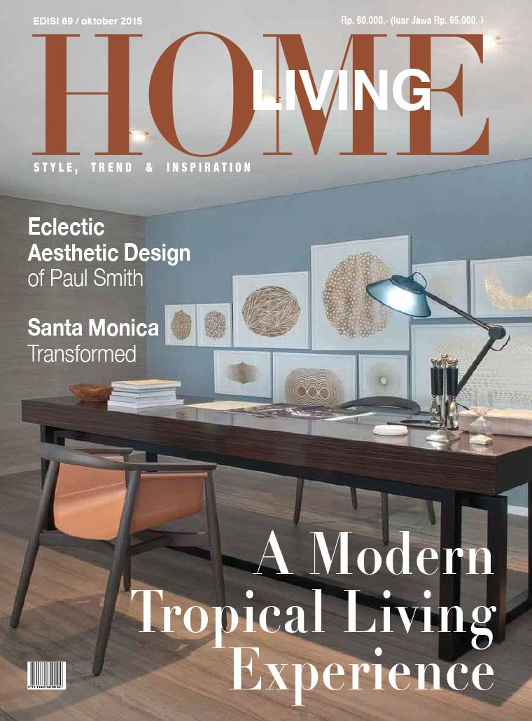 home living magazine october 2015 gramedia digital