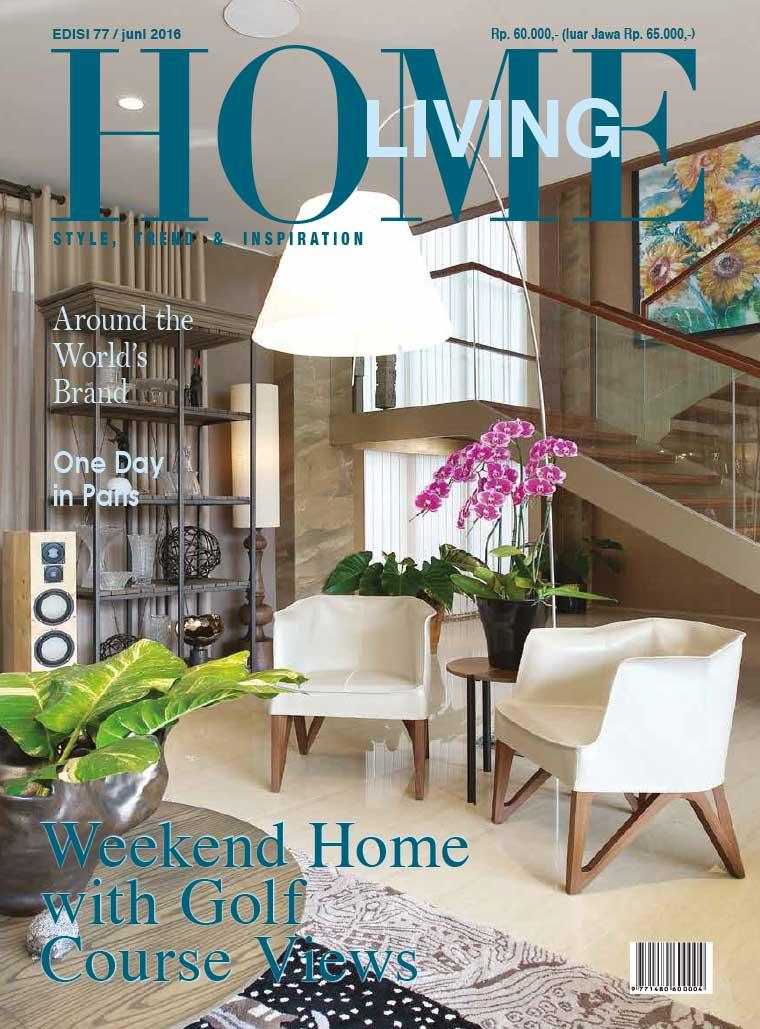 home living magazine june 2016 gramedia digital. Black Bedroom Furniture Sets. Home Design Ideas