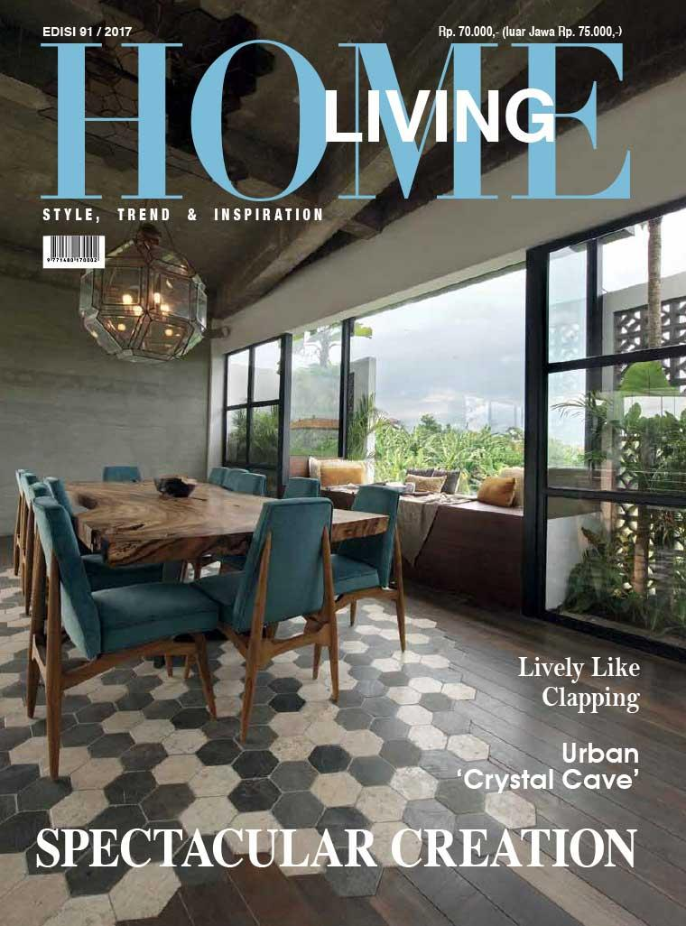 home living magazine august 2017 gramedia digital. Black Bedroom Furniture Sets. Home Design Ideas