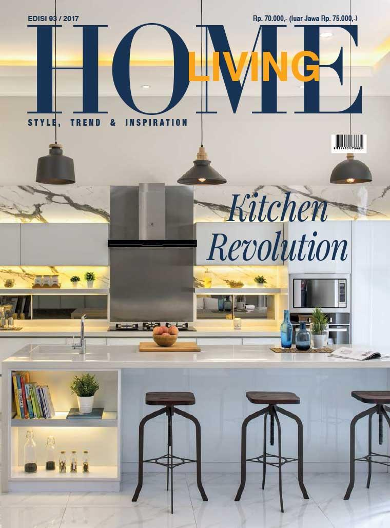 Home living magazine october 2017 gramedia digital for Best home magazines