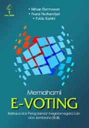 Cover Memahami E-voting oleh Evida Kartini