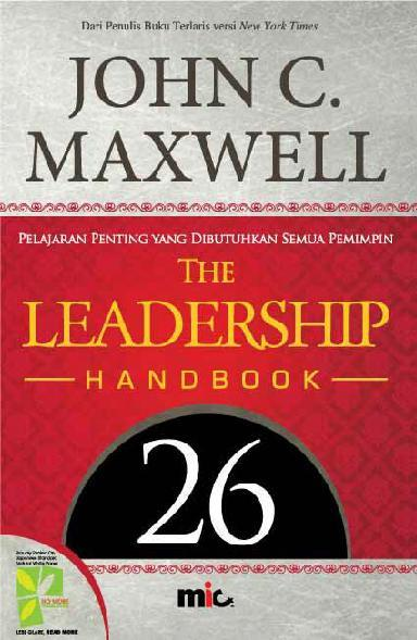 Buku Digital The Leadership Handbook oleh John C. Maxwell