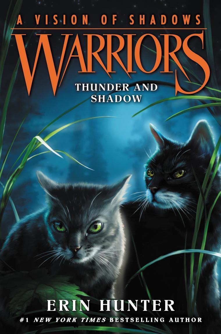 Buku Digital Warriors A Vision of Shadows #2 Thunder and Shadow oleh Erin Hunter