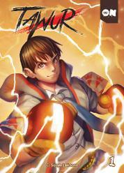 Cover Tawur Vol 1 oleh C. Suryo Laksono
