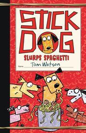 Cover Stick Dog Slurps Spaghetti oleh Tom Watson