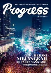 Cover Majalah Progress Desember–Januari 2017