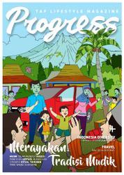 Cover Majalah Progress Juni–Juli 2017