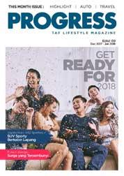 Cover Majalah Progress Desember–Januari 2018