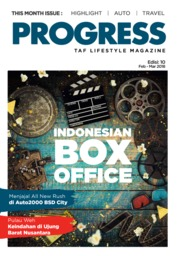 Cover Majalah Progress Februari–Maret 2018