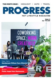 Cover Majalah Progress April-Mei 2018