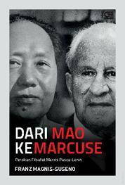 Cover Dari Mao ke Marcuse oleh Frans Magnis Suseno