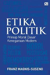 Etika Politik by Franz Magnis Suseno Cover