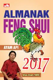 Cover Almanak Feng Shui 2017 oleh Mas Dian, MRE