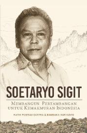 Soetaryo Sigit Membangun Pertambangan untuk Kemakmuran Indonesia by Cover