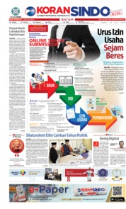 KORAN SINDO BATAM Cover 20 July 2018