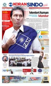 Cover KORAN SINDO BATAM 15 Agustus 2018