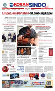 Cover KORAN SINDO BATAM 13 Oktober 2018