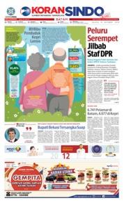 Cover KORAN SINDO BATAM 16 Oktober 2018