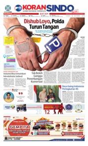 Cover KORAN SINDO BATAM 18 Oktober 2018