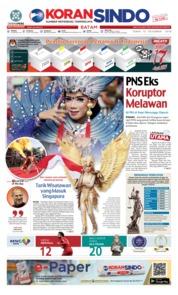 Cover KORAN SINDO BATAM 10 Desember 2018