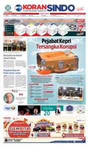 Cover KORAN SINDO BATAM 11 Desember 2018