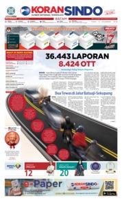 Cover KORAN SINDO BATAM 12 Desember 2018