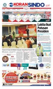 Cover KORAN SINDO BATAM 15 Desember 2018