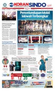 Cover KORAN SINDO BATAM 22 Januari 2019
