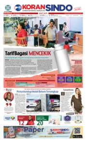 Cover KORAN SINDO BATAM 23 Januari 2019