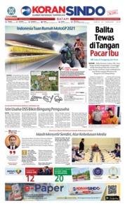 Cover KORAN SINDO BATAM 23 Februari 2019