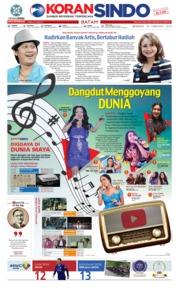 Cover KORAN SINDO BATAM 24 Februari 2019