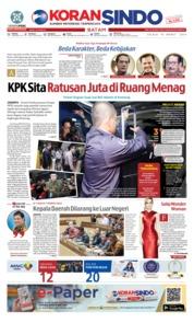 KORAN SINDO BATAM Cover 19 March 2019