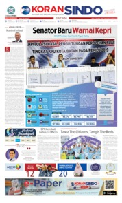 KORAN SINDO BATAM Cover 13 May 2019